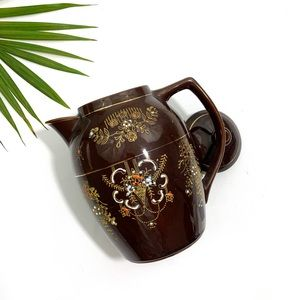 Vintage Hand-Painted Drink Pitcher (MADE IN JAPAN)